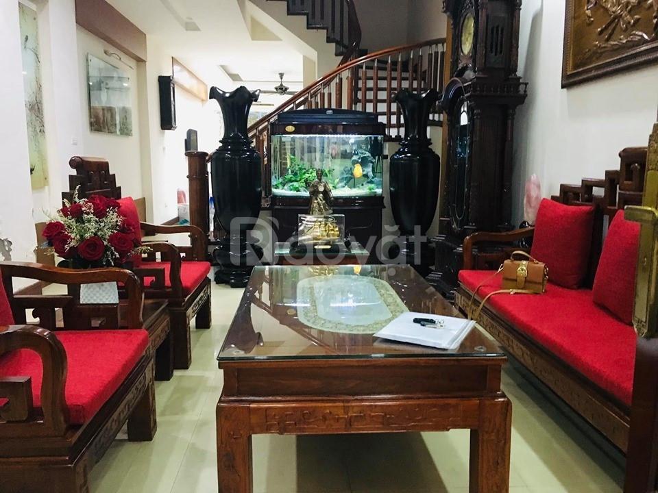 Bán nhà KĐT Văn Quán, Hà Đông, 100m2, 5 tầng, 2 thoáng, gara, vỉa hè