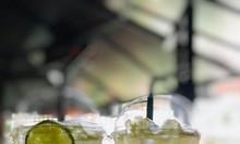 Ly nhựa Pet nắp cầu 590ml(600ml) dùng cho các quá trà sữa