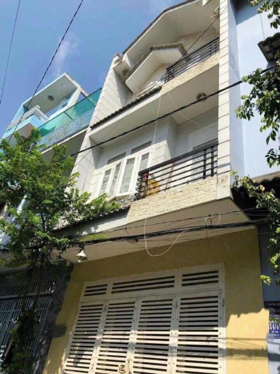 Bán nhà hẻm 6m, 4 tầng, nhà nở hậu, giá 6,4 tỷ, Phường 11, Bình Thạnh.