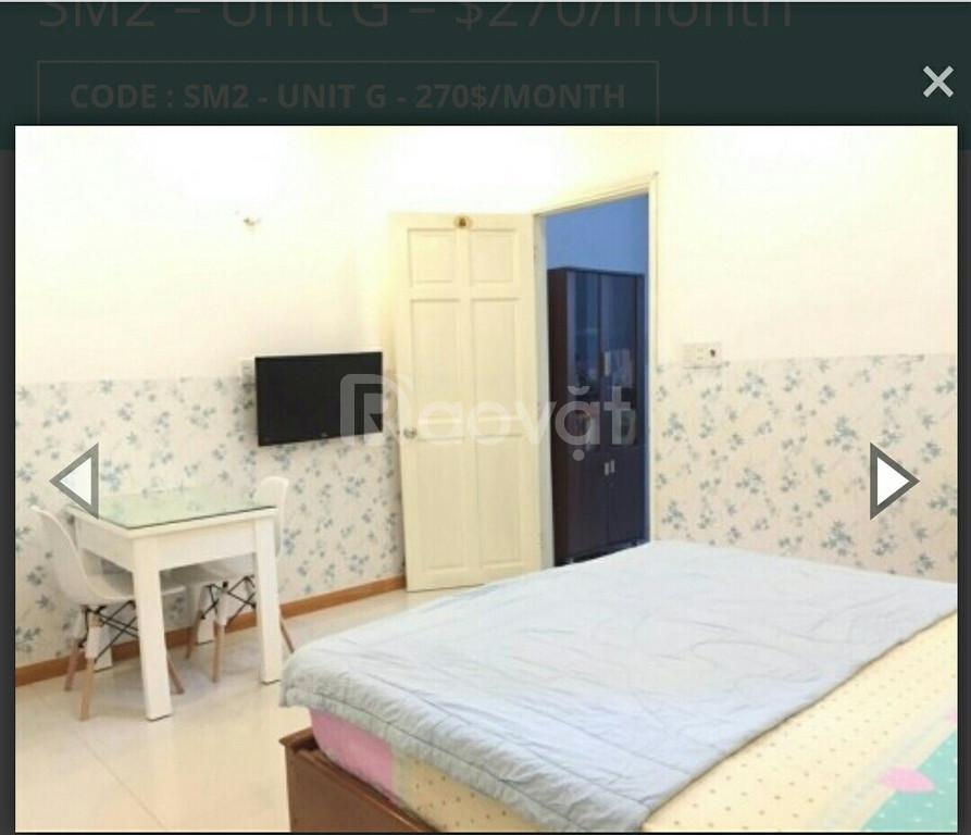 Cho thuê căn hộ mini đường Dương Bá Trạc, Q.8, full nội thất, giá rẻ
