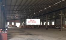 Cho thuê kho xưởng DT 2800m2 4500m2 KCN Đại Đồng Tiên Du