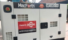 Máy phát điện 10kw 1 pha chạy dầu Macforth MF10EV1S công nghệ Mỹ