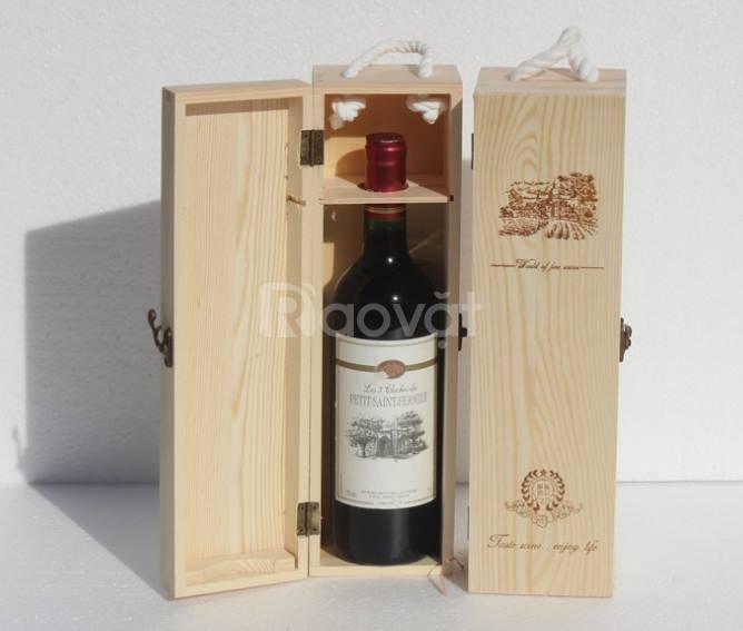 Hộp rượu da mẫu mã đẹp, chất tốt, giá tốt