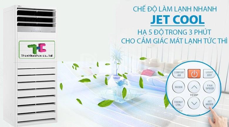 Bán máy lạnh tủ đứng LG 5HP APUQ48GT3E3 inverter giá rẻ