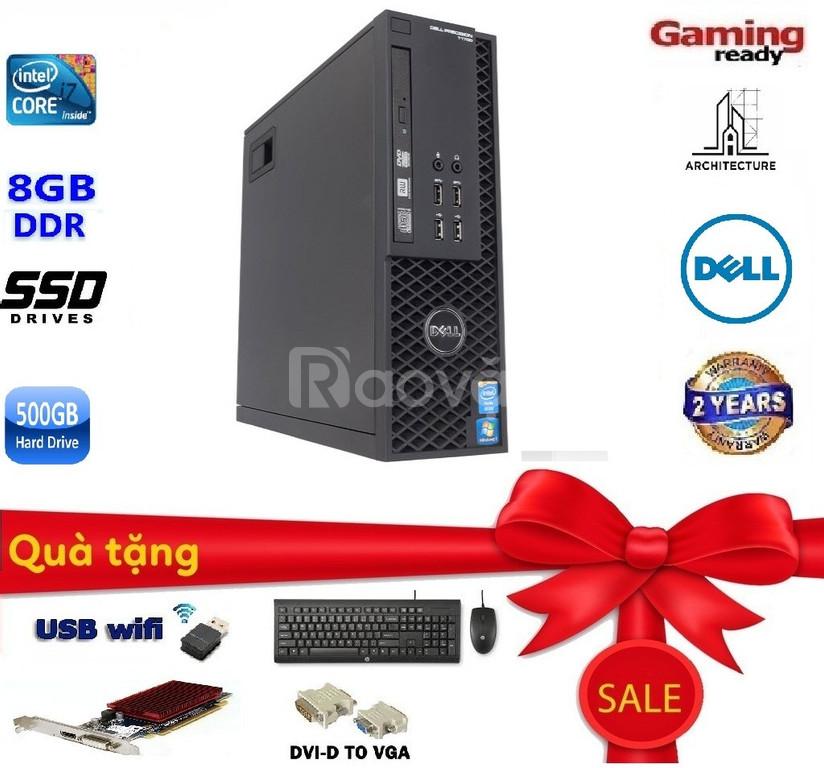 Bán máy trạm Dell workstation T1650 core i3, i5, i7 và xeon E3