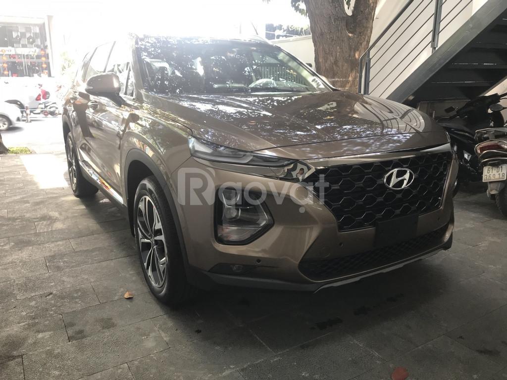 Hyundai SantaFe 2019 xăng/dầu, đủ màu, giao ngay, Hyundai An Phú