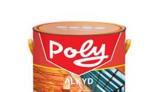 Cửa hàng bán sơn dầu Poly cho sắt thép giá rẻ, chính hãng
