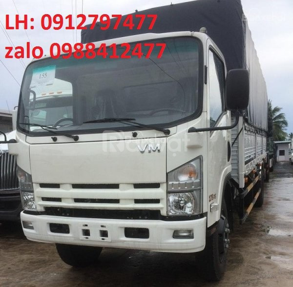 Vốn 100tr mua xe tải isuzu 8T2 8,2 tấn 8tan2 thùng 7m