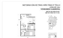[Vin Gardenia] Chính chủ gửi bán căn 2PN tòa A1, tầng đẹp