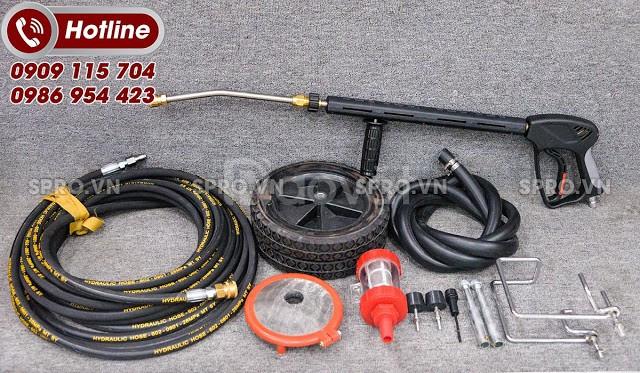 Máy rửa xe áp lực cao Projet P55-1518B3 êm ái, tiết kiệm điện năng