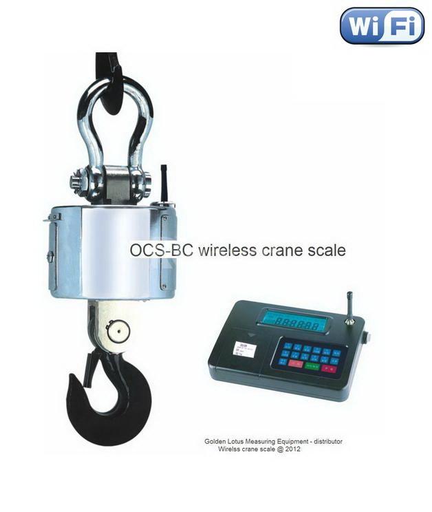Cân treo điện tử 50 tấn OCS