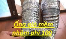 Ống gió cách nhiệt, ống gió nhôm, ống gió mềm nhôm Hàn Quốc d100