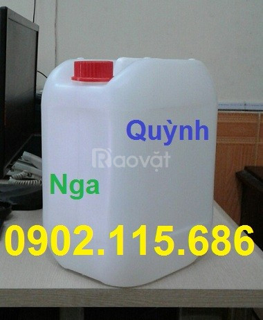 Can nhựa đựng hóa chất, can nhựa đựng axit