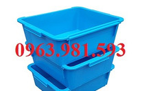 Thùng nhựa giá rẻ, hộp nhựa, thùng nhựa đựng quần áo, thùng nhựa.