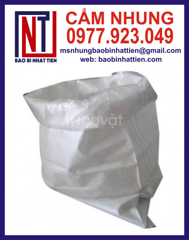 Bao PP trắng đựng 25kg tinh bột (ảnh 5)