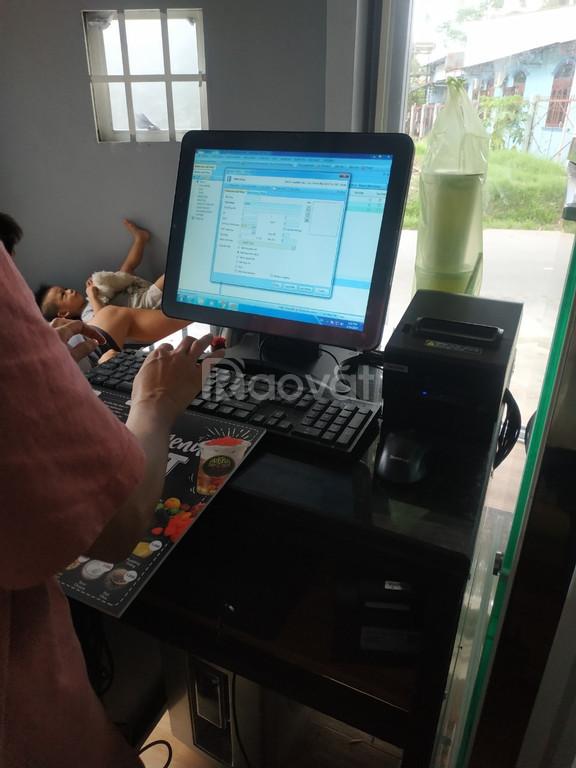 Cung cấp máy tính tiền cho quán trà sữa cảm ứng tại KonTum