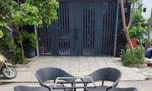Bàn ghế nhựa giả mây sân vườn thanh lý giá rẻ.