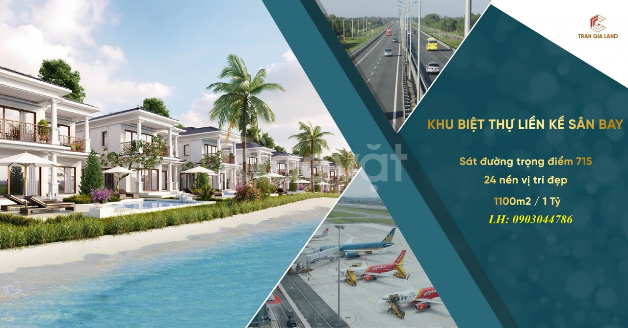 Nhận giữ chỗ dự án đất sân bay xã Thiện Nghiệp, TP Phan Thiết