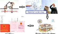 Hoàn công nhà nhanh Bình Thạnh - Phú Nhuận - Tân Bình