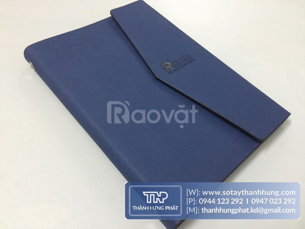 Sổ tay bìa da cao cấp | Chuyên sản xuất sổ tay bìa da quà tặng.