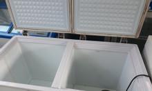 Tủ đông mát Sanyo 270l côi láng, dàn lạnh đồng
