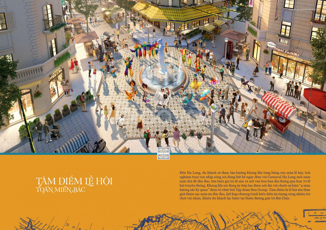 Sức hút của Shophouse Sun Plaza Europe Hạ Long - 120m2x5T,11 tỷ