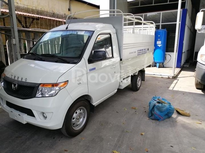 Xe tải Kenbo 990 kg, thùng kín cánh dơi, có sẵn xe và hồ sơ
