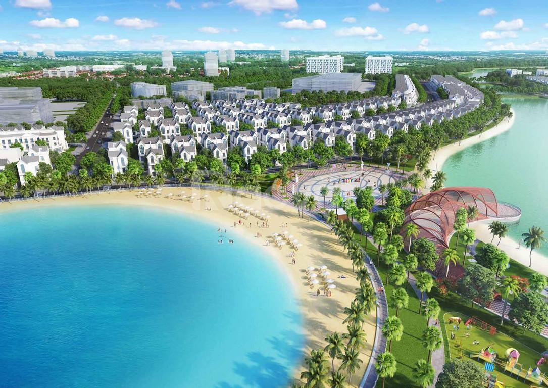 Bán biệt thự đơn lập mặt biển mặn Vinhomes Ocean Park