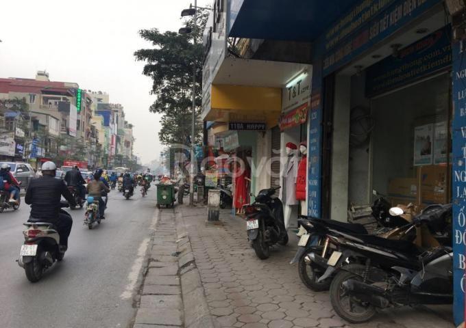 Cho thuê sàn tầng 1 mặt phố Nguyễn Lương Bằng - mặt tiền 4,5m