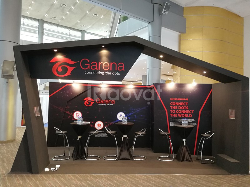 Booth Event, gian hàng triễn lãm, sản xuất booth quảng cáo