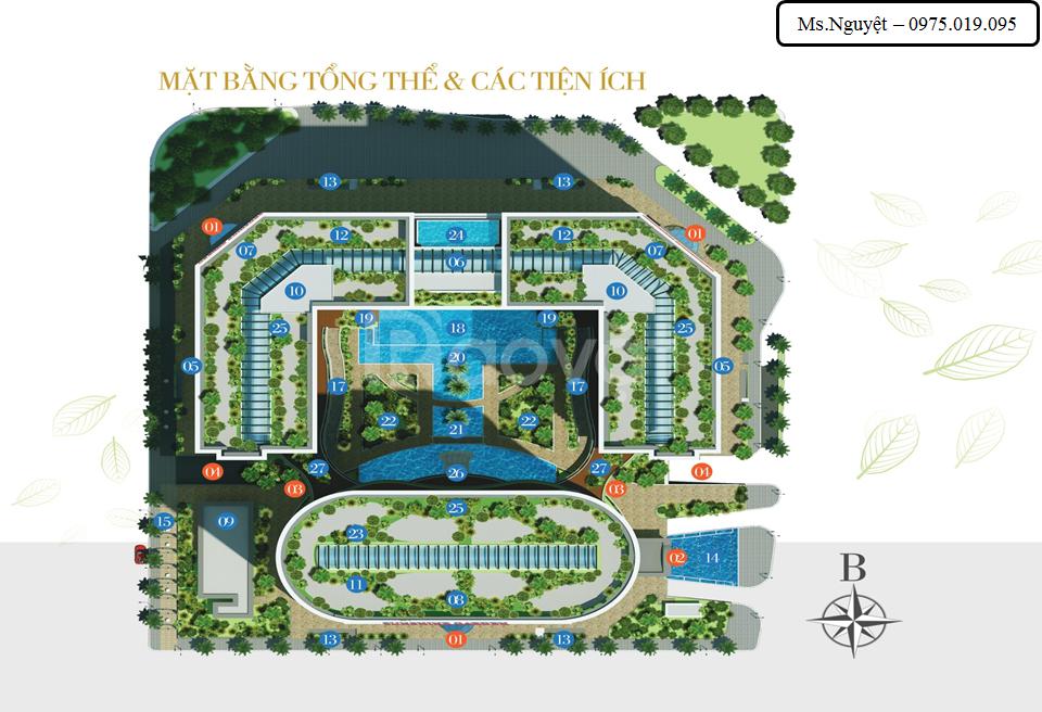 Chung cư Sunshine Garden liền kề Times City giá chỉ từ 28tr/m2