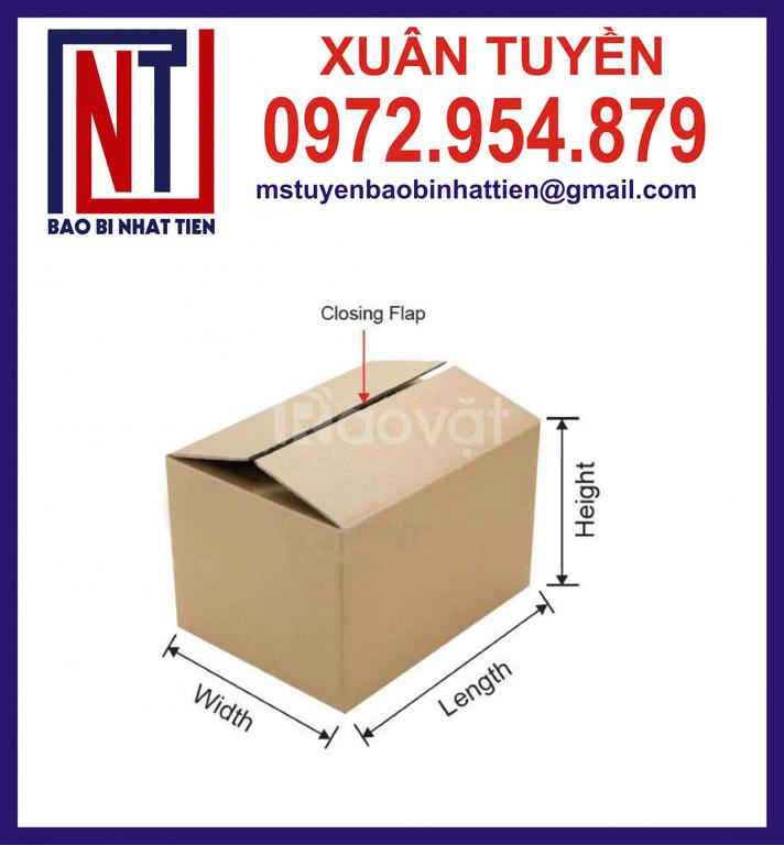 Thùng carton 5 lớp đóng hàng xuất khẩu