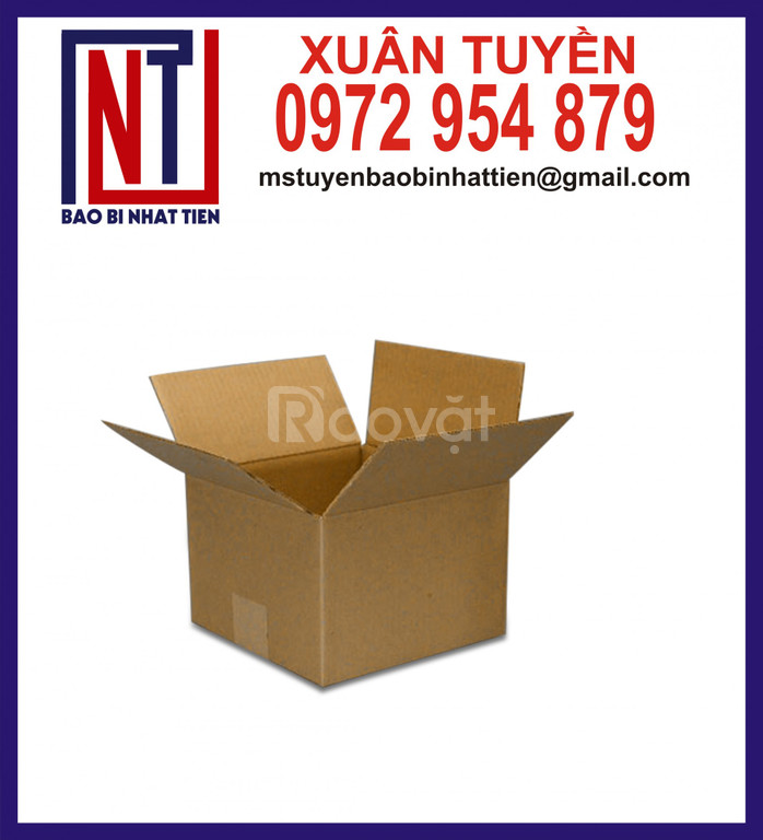 Thùng carton trơn giá rẻ