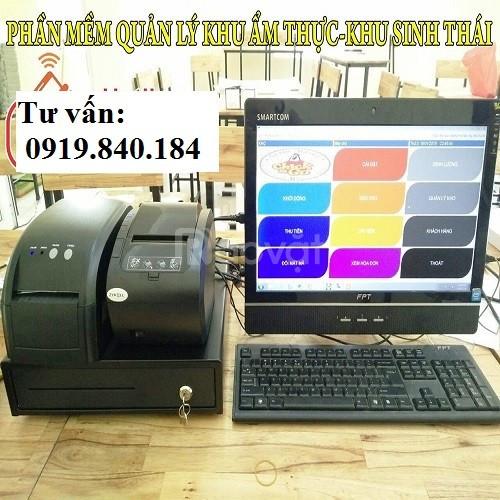 Lắp máy tính tiền cho khu du lịch sinh thái tại Sóc Trăng