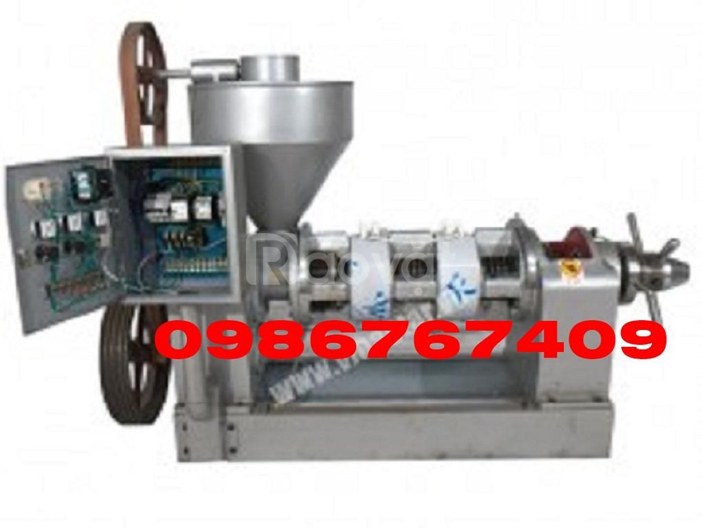 Máy ép dầu dừa, vừng 150kg/h kiệt bã 10J-2WK