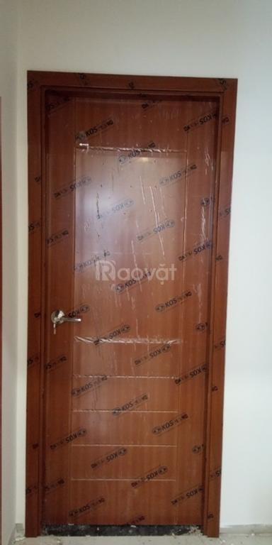 Cửa abs Hàn Quốc cửa nhựa giả vân gỗ