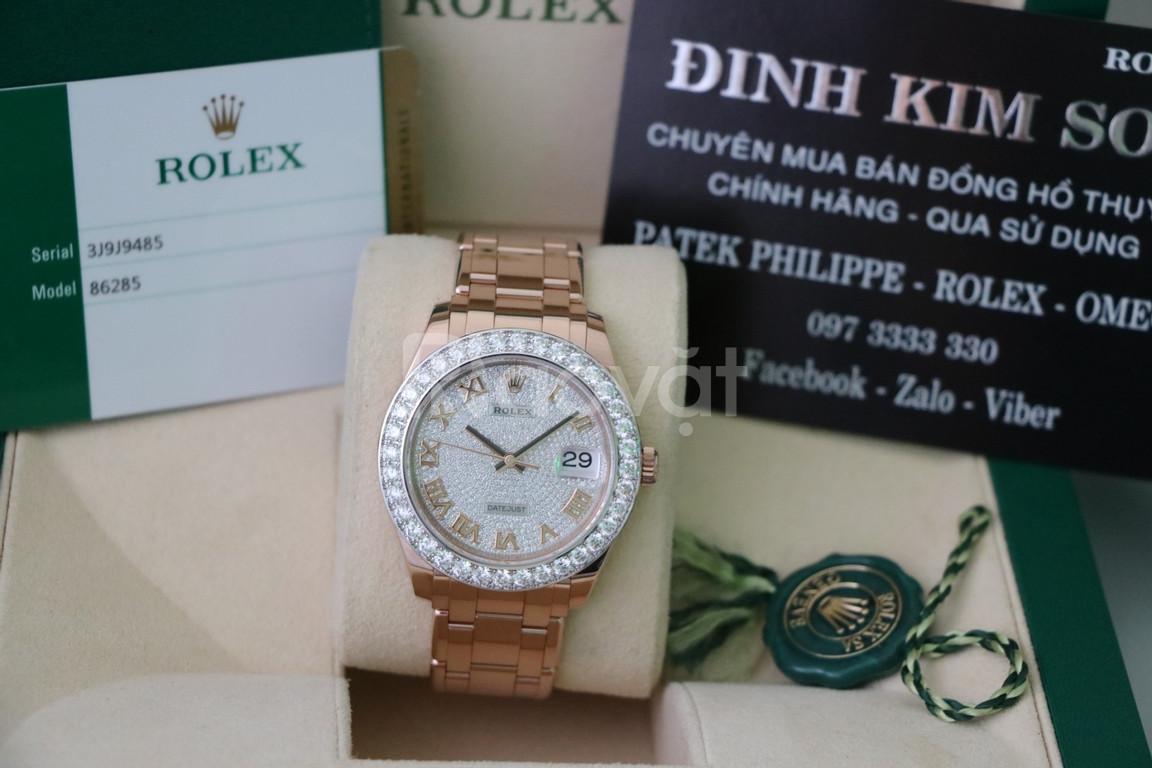 Shop thu mua đồng hồ rolex cũ chính hãng giá cao   rolex date just