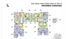 [Vin Gardenia] Cần căn 2PN tòa A1 full nội thất view biệt thự liền kề