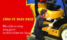 Sửa chữa xe nâng dầu, điện, xăng ga giá rẻ
