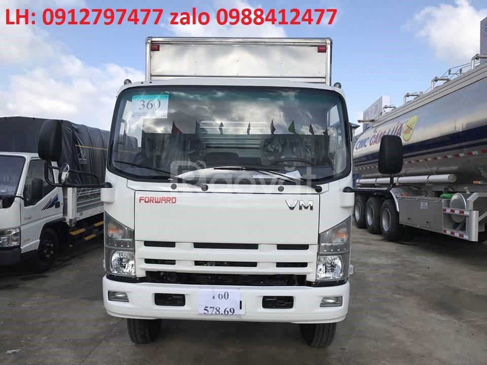 Chuyên xe tải isuzu 8t2/ isuzu 8 tấn thùng 7m giá tốt