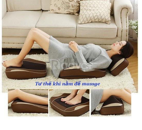 Đệm massage toàn thân làm dịu căng thẳng, làm lưu thông mạch huyết