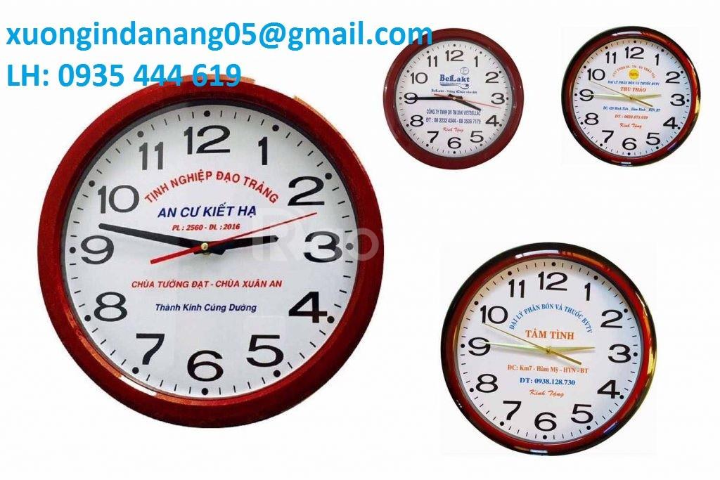 In logo đồng hồ quảng cáo giá rẻ Quảng Trị.