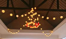 Đèn Pingpong - Dây đèn bóng tròn trang trí quán