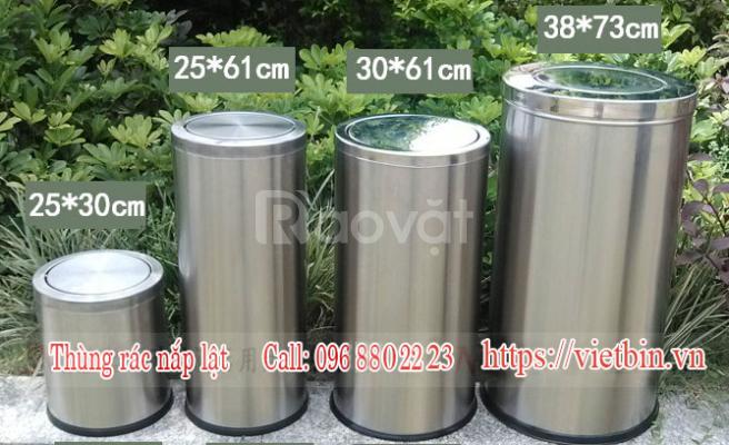 Thùng rác inox Vietbin - giảm giá 30% cho tất cả quý khách hàng