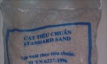 Cát tiêu chuẩn thí nghiệm xi măng (TCVN, ASTM, ISO)