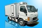 Xe tải thùng đông lạnh Hyundai 1T9 ô tô Phước Tiến