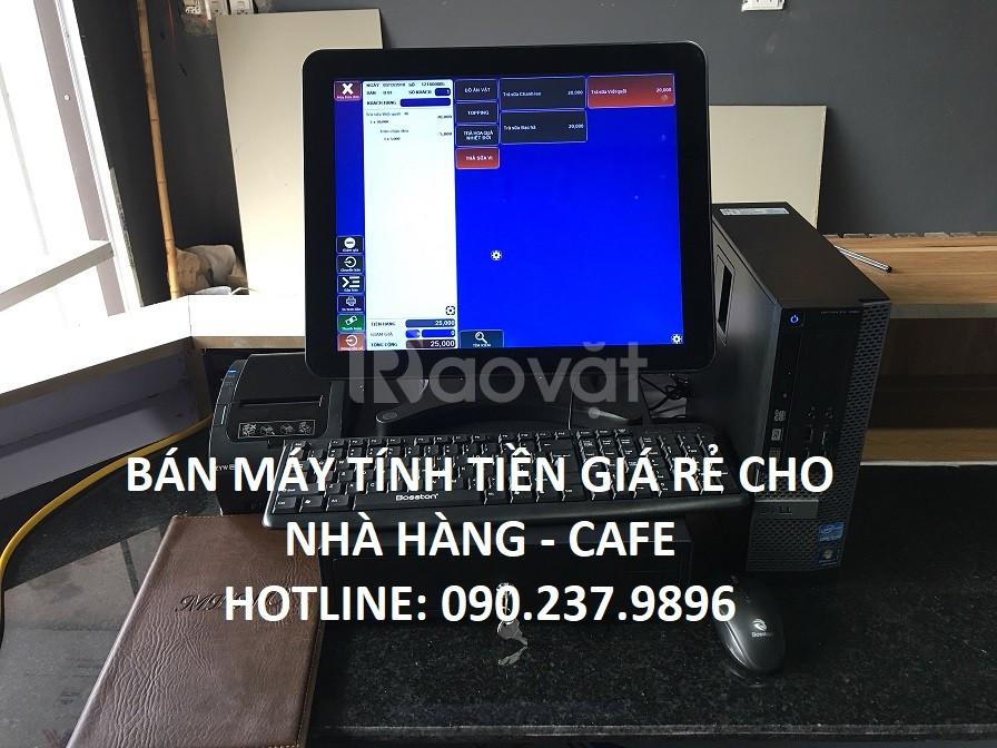 Chuyên bán máy tính tiền cho quán trà sữa tại Nghệ An
