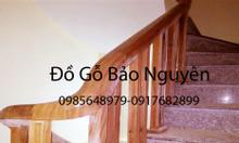 Bán song tiện và tay nắm vịn lan can gỗ lim tại Nguyễn Trãi HN