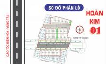 Đất nền khu dân cư Hoàn Kim 1 giá F0 đầu tư giá chỉ từ 499 tr/nền