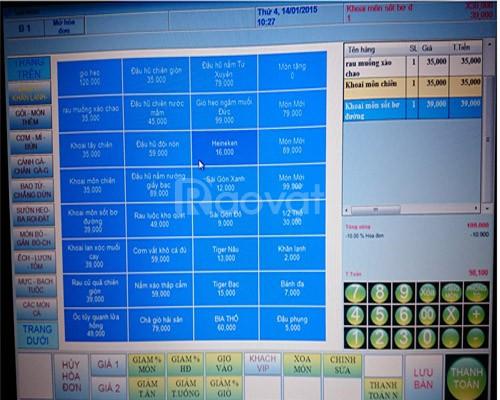 Phần mềm tính tiền quán trà sữa tại TPHCM